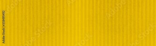 Yellow mustard natural cotton stripes linen textile texture background banner pa Fototapet