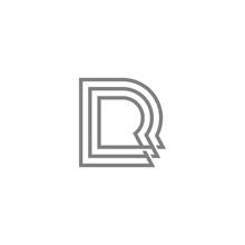 Triple R Letter Logo Vector Ic...