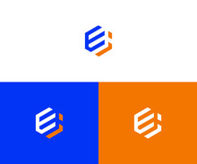 Ei Logo Design Vector Format