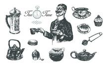 Five O'clock Tea Time Set With...