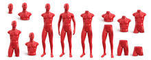 Naked Plastic Male Mannequin F...