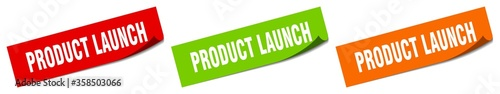 Photographie product launch sticker