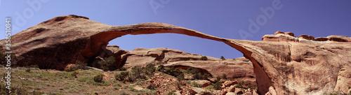Landscape arch in Arches National park Fototapeta