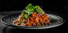 Fried Rice With Beef Meat And ...