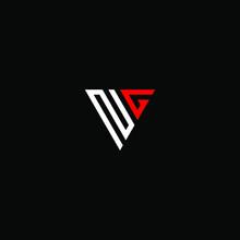 Ng Letter Vector Logo Abstract