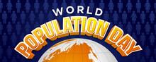 World Population Day, 11 July....