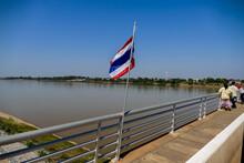 Border Between Laos And Thaila...