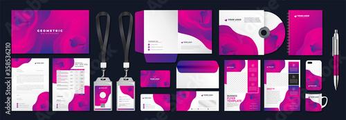 Fotografie, Obraz Corporate identity set branding template design kit