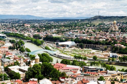 Tbilisi city panorama, Georgia