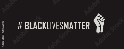 Black Lives Matter Hashtag