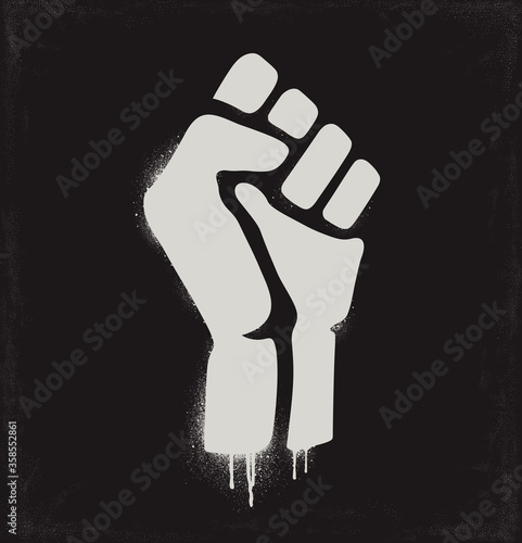 Photo Fist raised in protest