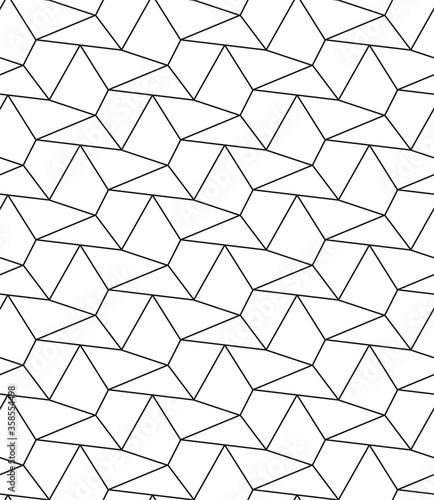 Foto Continuous White Graphic Continuous Plexus Texture