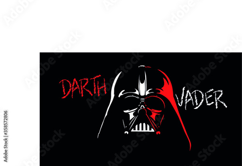 darth vader star wars sith anakin Canvas Print