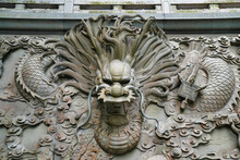 Artfully Carved Stone In The ...