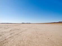El Mirage Mojave Desert Dry Lake Bed In Southern California.