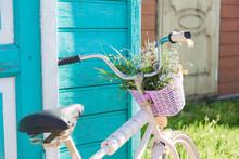 Old Retro Bike In The House In...