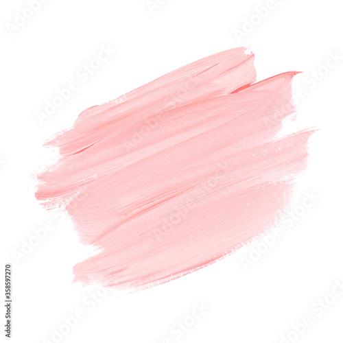 Valokuvatapetti Pink Make-up paint element art design