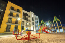 Children Playground At Night I...