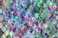 Abstract Stained Glass Pattern...