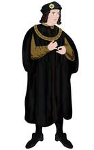 Medieval Plantagenet King Richard III Vector King Of England And Lord Of Ireland
