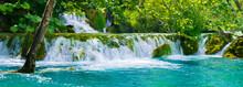 It's Plitvice Lakes National Park, The Largest National Park In Croatia, UNESCO World Heritage