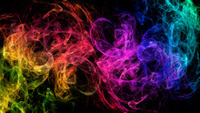 Abstract Space Multicolored Ne...