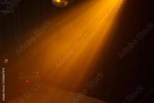 Photo Licht eines Lichteffektes / Lichtmuster eines Effektscheinwerfer