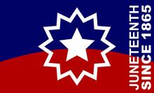 Juneteenth Since 1865. Design Of Banner. Flag. Vector Logo Illustration.