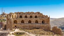 It's Part Of The Kerak Castle, A Large Crusader Castle In Kerak (Al Karak) In Jordan.