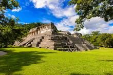 A Temple In Palenque, Was A Pr...