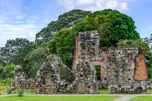 It's Archaeological Site Of Panama Viejo And Historic District Of Panama. UNESCO World Heritage