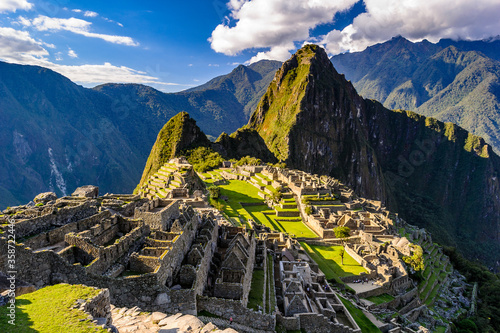 Valokuvatapetti It's Machu Picchu, a Peruvian Historical Sanctuary in 1981 and a UNESCO World Heritage Site in 1983