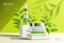 Ad Template For Essence And Cream