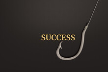 Fish Hook And Gold Success Wor...