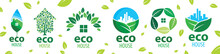 Vector Set Of Icons For Ecolog...