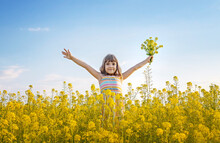 A Child In A Yellow Field, Mus...