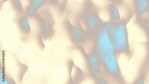 Abstract futuristic image. Aspect ratio 16 : 9 Billede på lærred
