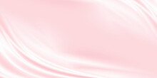 Pink Luxury Fabric Background With Copy Space