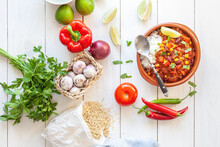 Vegan Mexican Chili Based On S...