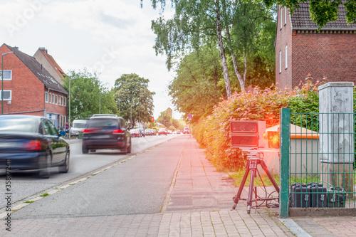 Fotografía Speed trap detects too fast car