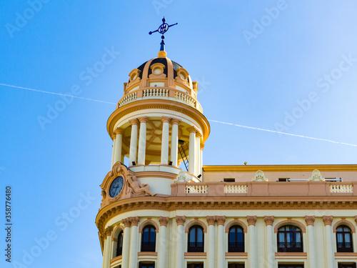 Photo It's Building on Gran Via (Great Way), Madrid, Spain