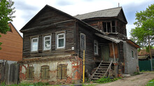 Old Poor House In Russia