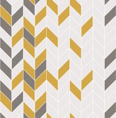 Fototapeta Wzory geometryczne Vector seamless pattern with modern rectangular herringbone tiles. Geometric diagonal texture. Vector illustration