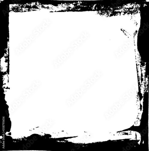 Slika na platnu Grunge Frame Square Border