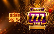Jackpot King Spins 777 Banner ...