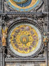 Astronomical Clock, Old Town City Hall, Prague, Czech Republic
