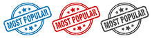 Most Popular Stamp. Most Popul...