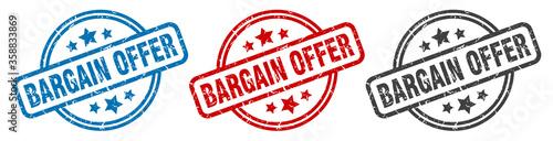 Photo bargain offer stamp