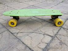 Skateboard Old Broken, On The ...