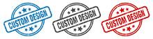 Custom Design Stamp. Custom De...